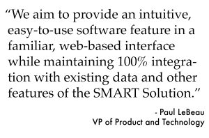 Quote about appointment scheduling software from SMART's VP