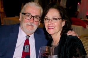 Remembering Ricky Froncillo, B.S., LCDS with wife