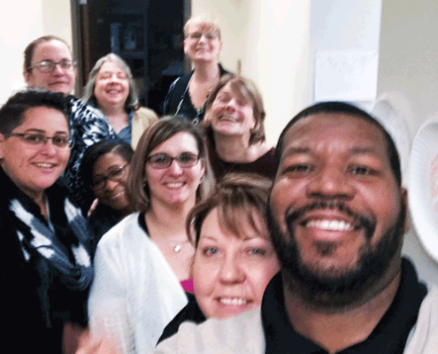 Team-selfie!-ACADIA-Madison-Wisconsin-receives-SMART's-new-electronic-health-record-system