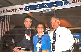 David with Dianne (mom) and Dave Sr. at AATOD 2003 in D.C.
